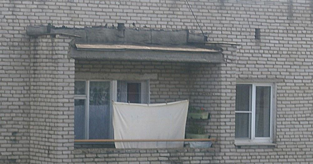 Крыша балкона последний этаж своими руками