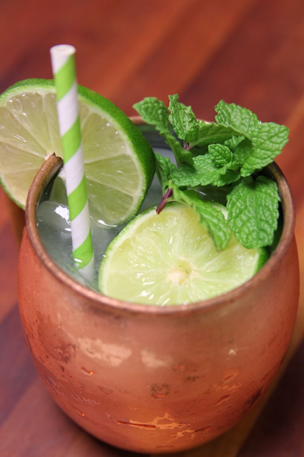 carmen's kitch: My Signature Cocktail: the Moscow Mule!