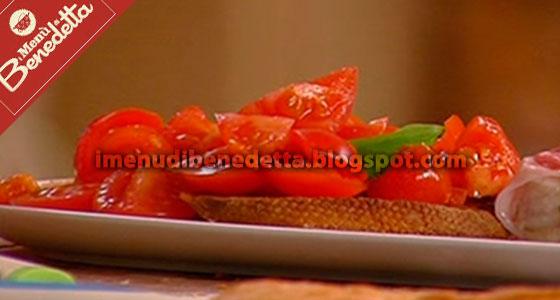 Pane Fritto con Pomodorini di Benedetta Parodi