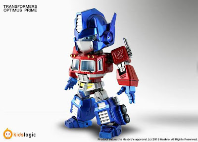 "Kidslogic Transformers 6"" Super Deformed Optimus Prime Figure"