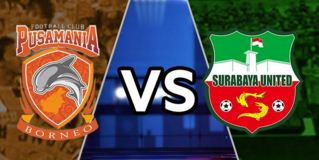 Surabaya United vs Pusamania Borneo FC