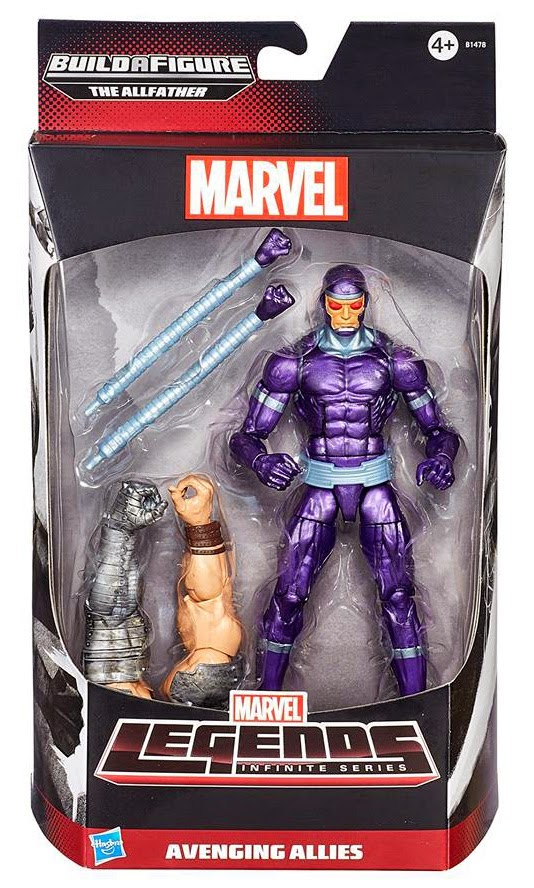 Hasbro - Marvel Legends Avengers Infinite - Machine Man figure