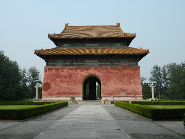 Shen Gong pavillion at Ming Tombs by garden muses: a Toronto gardening blog