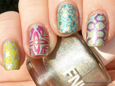 FNUG Fantastica with skittles stamping