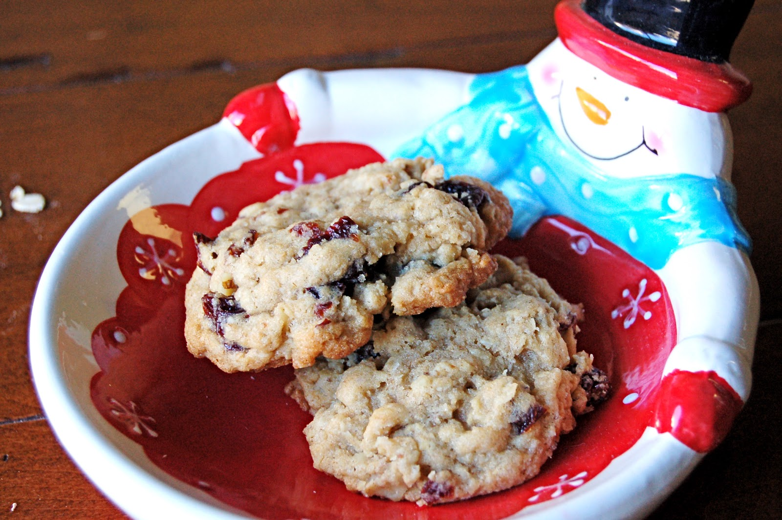 Kettler Cuisine: Cherry Walnut Oatmeal Cookies