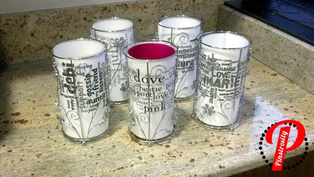 Pinstrosity miyo subway art candle holders for Create your own candle holder