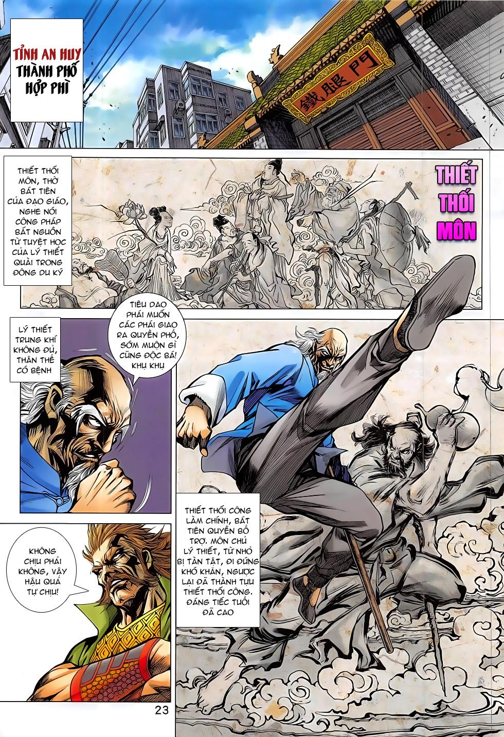 Tân Tác Long Hổ Môn chap 793 Trang 23 - Mangak.info