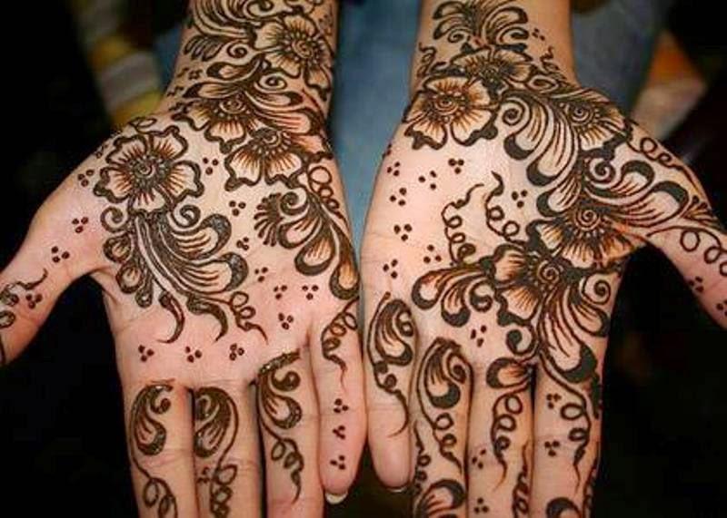 Contoh model henna untuk anak terbaru keren banget