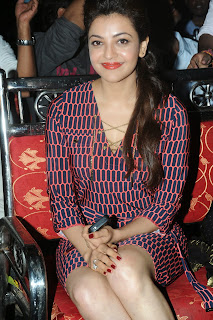 Kajal Agarwal Latest Pictures at Govindudu Andarivadele Movie Teaser Launch  8268.JPG