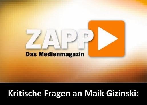 Kritische Fragen an Maik Gizinski