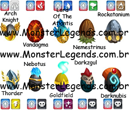 Eggs Monster Legends