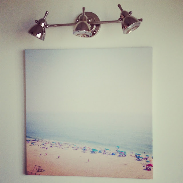 Instagram photos on canvas via Kiki's List blog