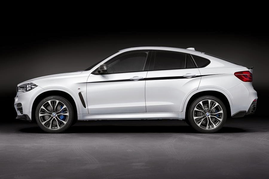 BMW X6 M50d With M Performance Parts (2015) Side