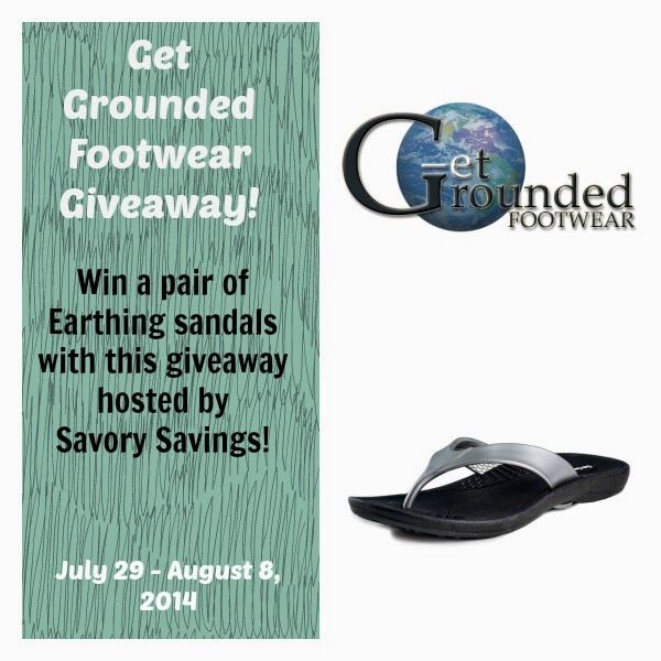 Get Grounded Footwear Giveaway