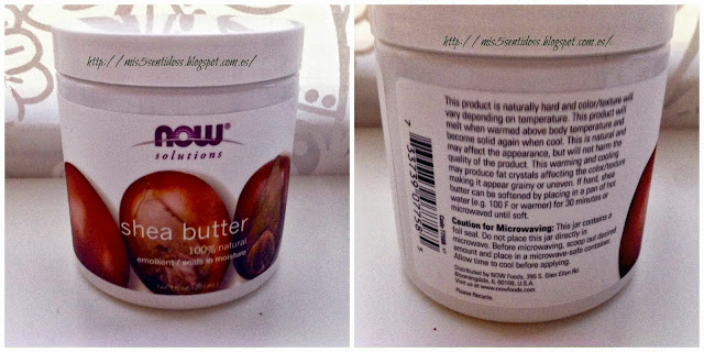iherb Shea butter Now Solutions