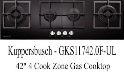 """Appliances, Cooktops, Kuppersbusch, 42"""","""