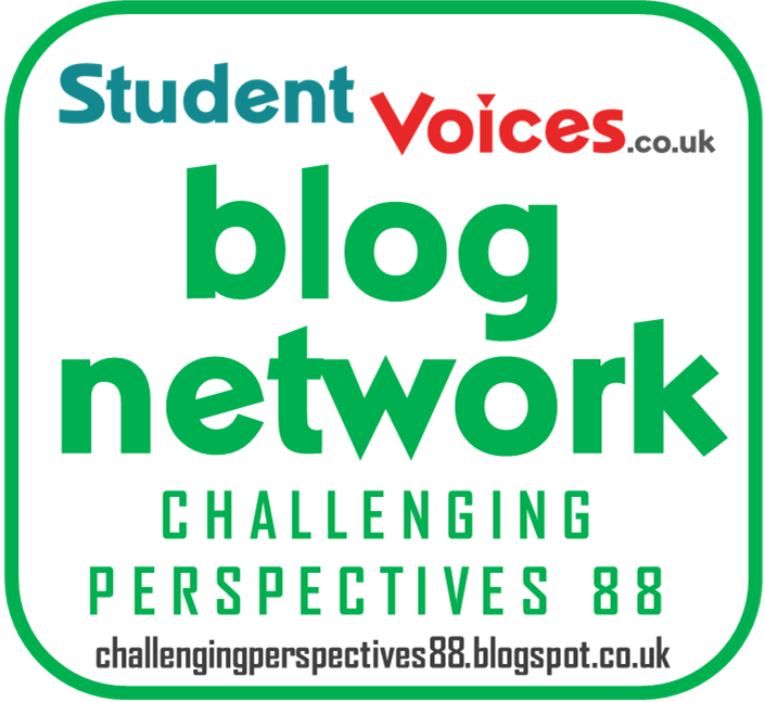 I am a certified member of blog network at Student Voices