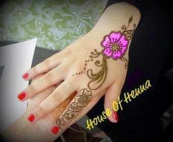 Inisial A Henna Mehndi