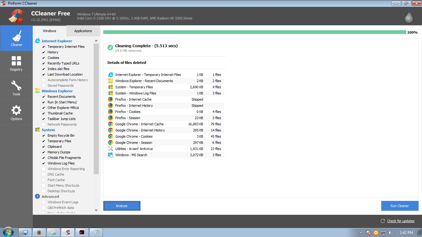 Ccleaner pro free download apk