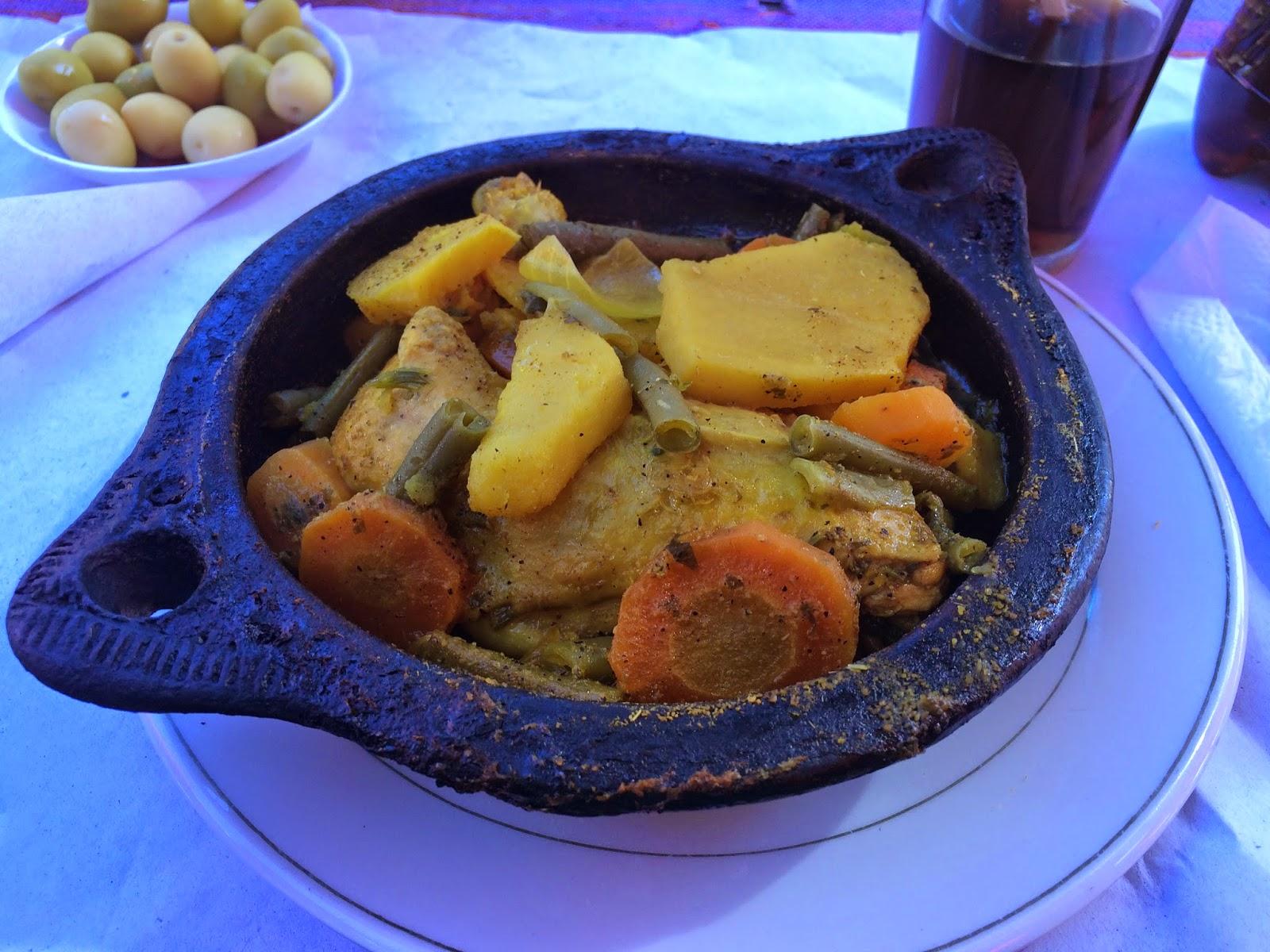 chicken tagine Chefchaouen maroc