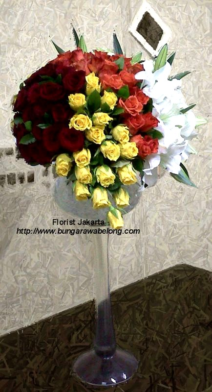 Bunga Peresmian Kantor, Hotel dan Restoran