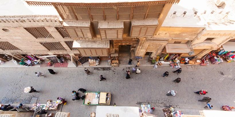 Óváros. Kairó, Egyiptom.
