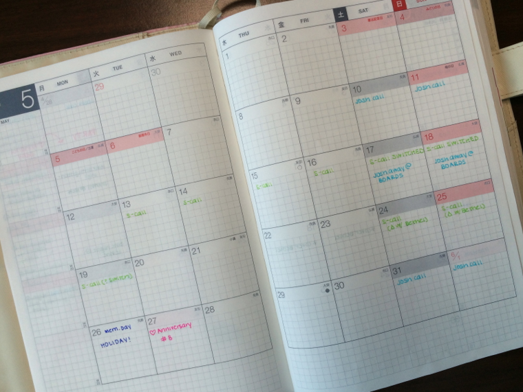 the SHU box: the Planner Post: 2014 edition