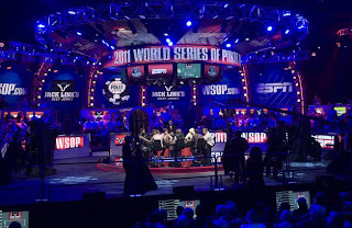 The 'arena' at the 2011 WSOP