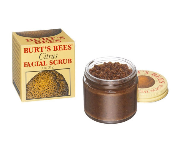 Bee burts citrus facial scrub