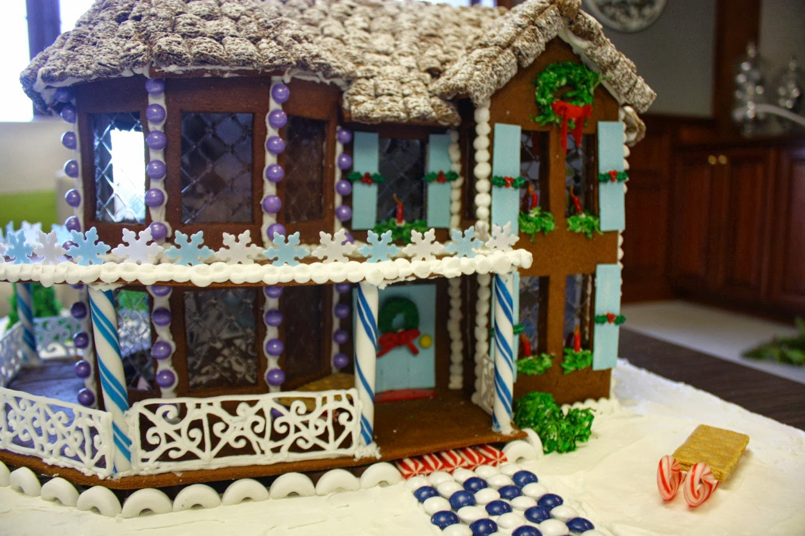 Victorian Gingerbread House Template Effingham gingerbread house by