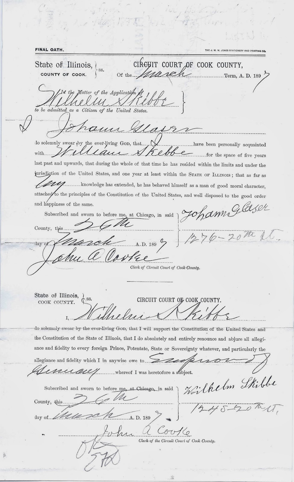 naturalization papers 2018-6-14  naturalization records document the official immigration of people from other countries to the us.