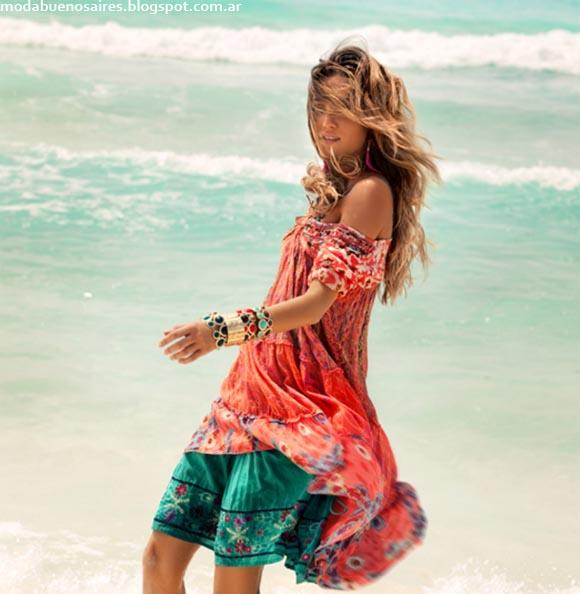 India Style primavera verano 2013. Vestidos verano2013.