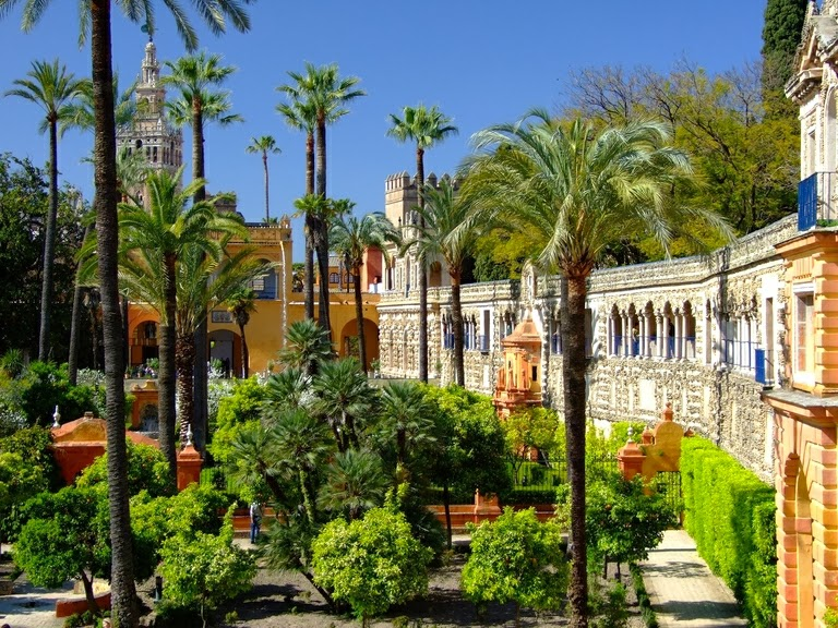 El blog de triana viajes los jardines m s bellos del planeta - Jardines verticales sevilla ...
