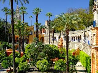 Jardines de los Reales Alcázares.Sevilla