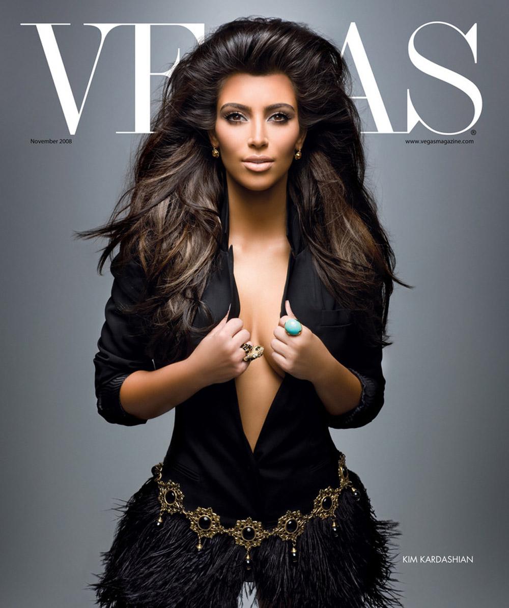 Kim Kardashian Dark Hair Color 03