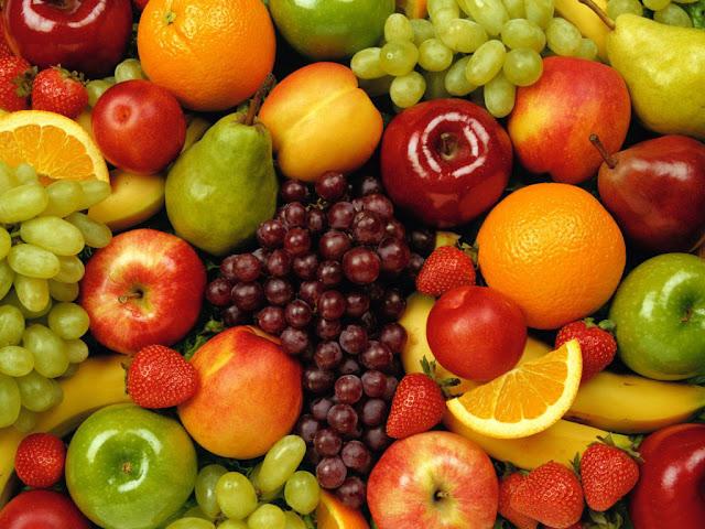 Coma muitas frutas