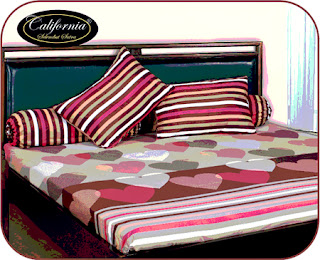 sprei california Choco Love