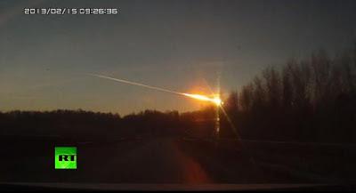METEORITO CAYO EN RUSIA, EL 15 DE FEBRERO DE 2013