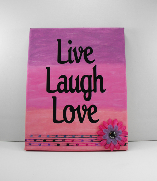 Live laugh love art live laugh love wall stickers quotes for Live laugh love wall art