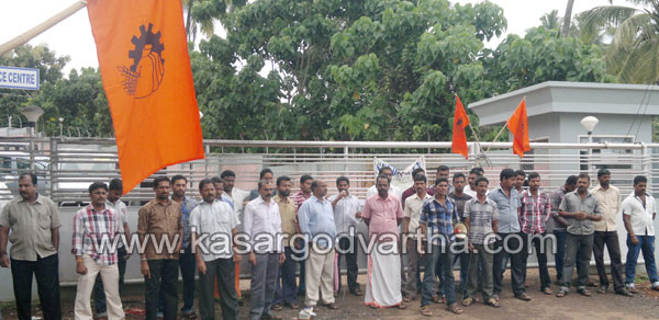 Anangoor, Strike, Worker, Kasaragod, Kerala, Kerala News, International News, National News, Gulf News.