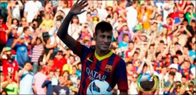 Neymar gabung Barcelona