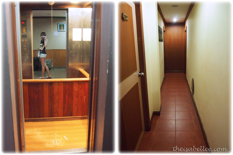 Small lift in Star Inn Hotel Bangkok