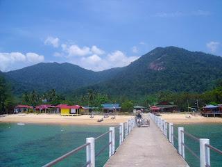Kumpung Paya Paya Beach Malaysia