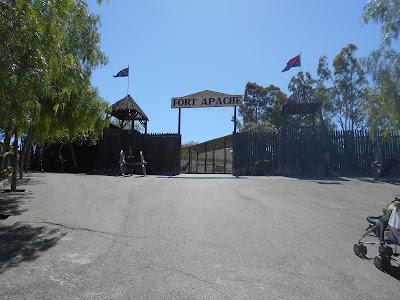 Entrada Parque Oasis MiniHollywood