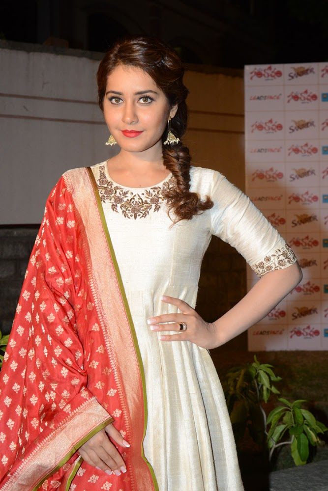 Rashi Khanna Latest HD images At Santhosam Awards Press Meet
