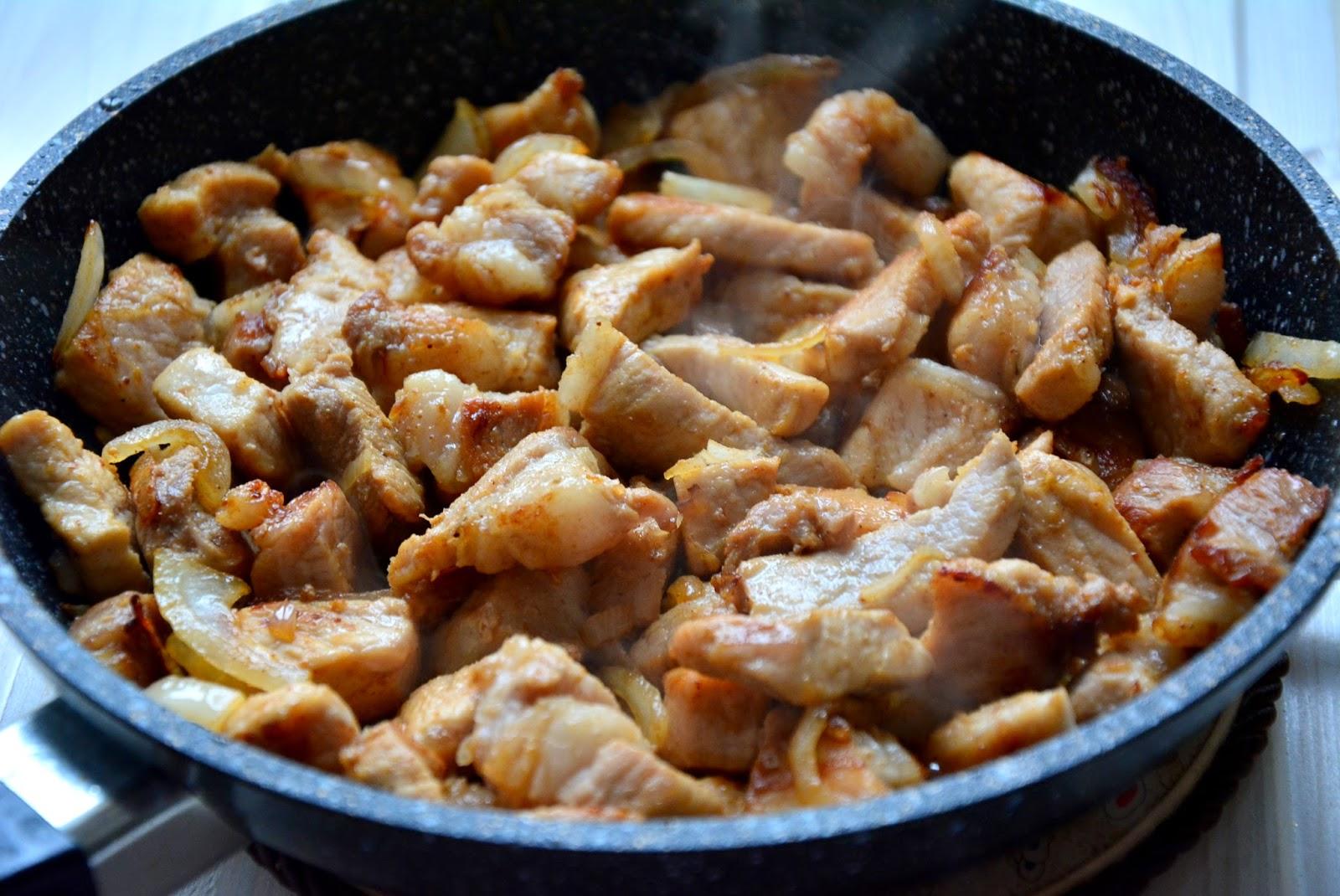 Рецепт галушек с мясом с пошагово
