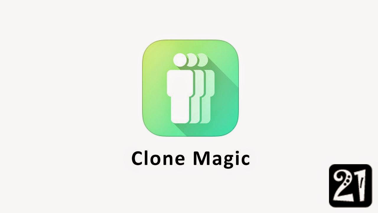 Clone Magic Bantuan pengklonan dalam gambar