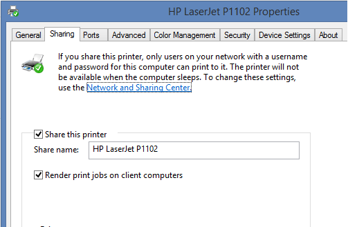 How to Share a Local Printer on LAN