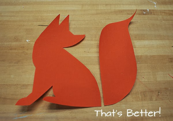 Easy DIY Fox Applique Toss Pillow