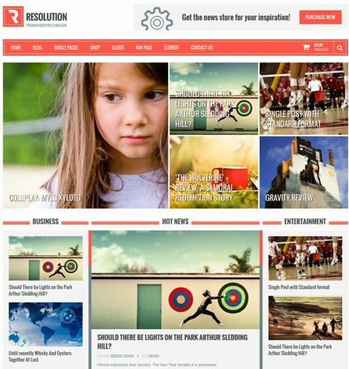 Resolution Multi Purpose WordPress Theme